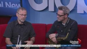 Winnipeg Jazz Orchestra performs on Global News Morning