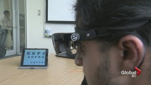 Surrey high school student leading E-Sight trial