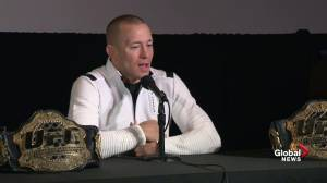GSP reveals what moment he's most proud of in his MMA career