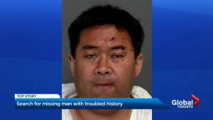 Search for missing Toronto man with troubled history