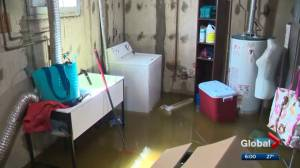 130 homes affected by flooding in Griesbach
