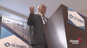 New Brunswick Conservative leader delivers election-style speech to Saint John business audience