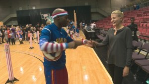 Our YEG At Night: Basketball lessons from the Harlem Globetrotters' Firefly