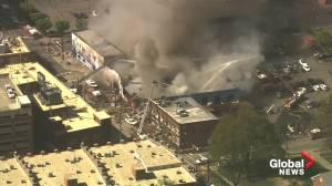 1 dead, 15 hurt in North Carolina gas leak explosion, fire: Police