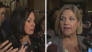 Speaker rules against Ontario PC MPP in 'Pushgate' controversy with Andrea Horwath.