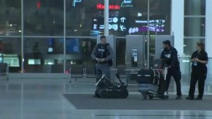 Part of Toronto Pearson International Airport's Terminal 1 cleared due to 'suspicious package'