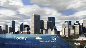 Edmonton early morning weather forecast: Thursday, July 18, 2019
