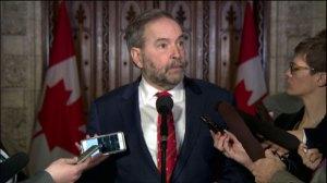 'Where's the Liberal plan to help aerospace?' : Tom Mulcair talks Bombardier job cuts