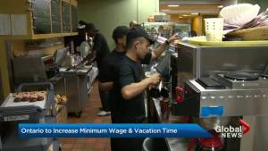Liberals to increase hourly minimum wage in Ontario
