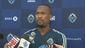 Whitecaps captain not at all pleased with the firing of head coach Carl Robinson