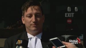 Defence for Derek Saretzky reacts to sentence