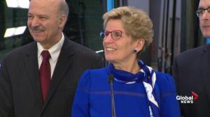 Wynne denies transit announcement a 'desperate political move'