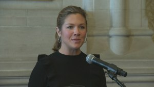 Sophie Gregoire Trudeau speaks about her struggle with eating disorders