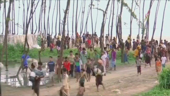 UN says it's too early to send Rohingya back to Myanmar
