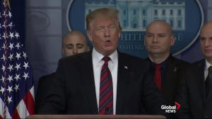 Trump holds surprise press briefing with border patrol agents to discuss need for a border wall