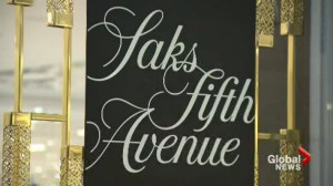 Saks Fifth Avenue opens first Canadian store