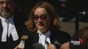 Crown prosecutor Photini Papadatou reacts to Derek Saretzky sentence