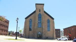 Saint John synagogue, church converted to serve as offices