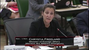 Freeland says Canada began the conversation on steel and aluminum 'as soon as it was raised in the U.S.'