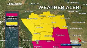 Severe thunderstorms expected in parts of central Alberta Friday
