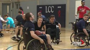 Action Centre's wheelchair basketball tournament