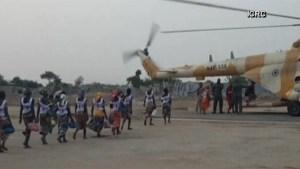 Freed Chibok schoolgirls to arrive in Nigeria's capital