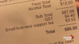 Calgary restaurant brings in controversial new surcharge