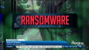 Latest ransomware attack hits computers worldwide