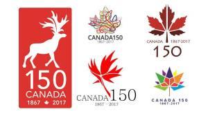 Canada 150 logos that didn't make the cut