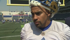 RAW: Blue Bombers Andrew Harris – Aug. 22