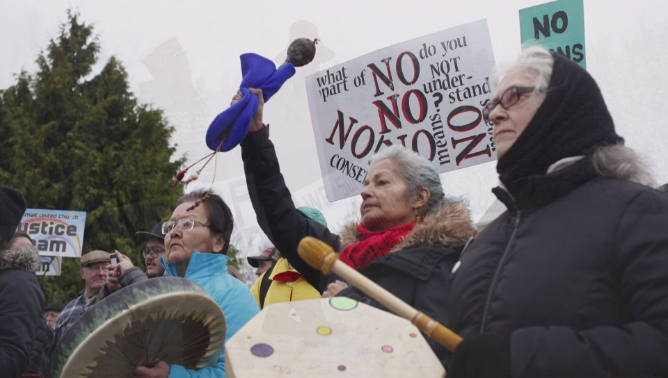 First Nations, RCMP reach deal in northern B.C. pipeline impasse class=