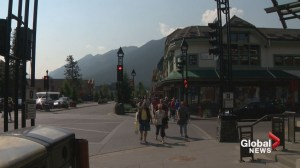 Are smoky skies spelling empty wallets in Banff?