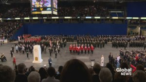 RAW VIDEO: Remembrance Day ceremony in Saskatoon