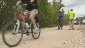 Grand opening held for Okanagan Rail Trail but project faces more hurdles