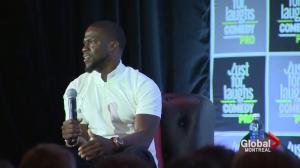 Kevin Hart searches for talent
