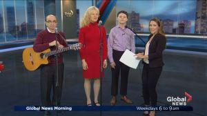Purim sing-along