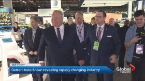 Ford asks GM about staying in Oshawa at Detroit auto show