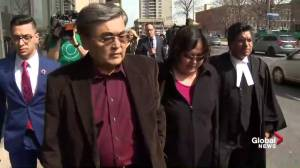 Parents of Karin Baratov remain silent after exiting courthouse
