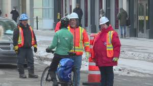 REM construction leads to disruptions in downtown Montreal