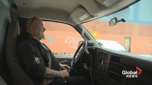 On Rock food bank shows off its new van