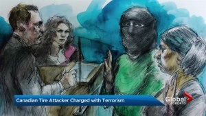 A woman who carried out an alleged ISIS inspired attack at a Scarborough Canadian Tire is now facing terrorism charges
