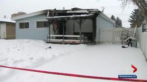 Woman dies in west Edmonton house fire