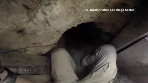 Drug smuggling tunnel running from Mexico to U.S. is the longest ever discovered