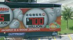 Thousands line up to buy tickets for $700m Powerball jackpot