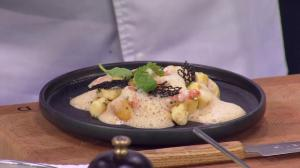 Boulevard Kitchen' Parisian gnocchi with a B.C. chardonnay