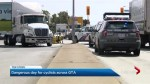 Bad day on GTA streets after 4 cyclists were struck by vehicles