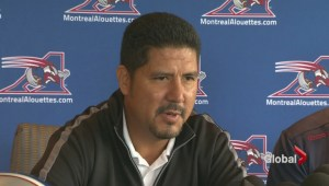 Honouring Alouettes' Anthony Calvillo