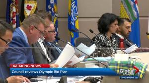 Calgary city council approves Olympic plebiscite