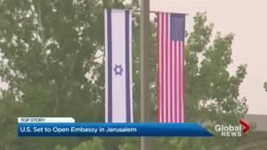 U.S. embassy set to open in Jerusalem
