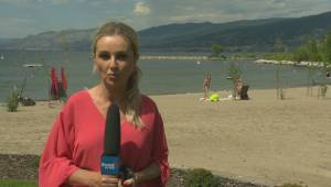 There's speculation a body pulled from Okanagan Lake over the weekend could be that of a missing kayaker from Penticton